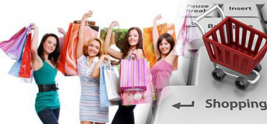 шопинг в интернете девушками