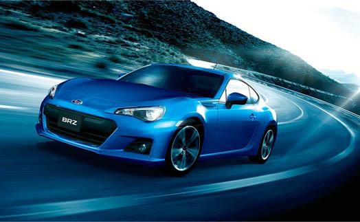 Subaru BRZ на тест драйве