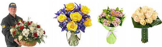 доставка цветов в руки
