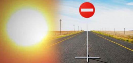 жара и дорожные запреты
