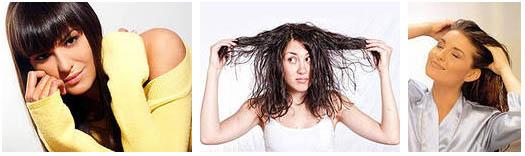 жирные волосы у девушек