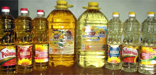 Олия разных брендов Украины