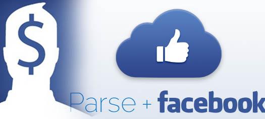 parse и facebook