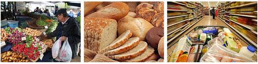 продукты питания и рост цен на рынке