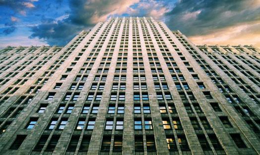 многоэтажка в городе