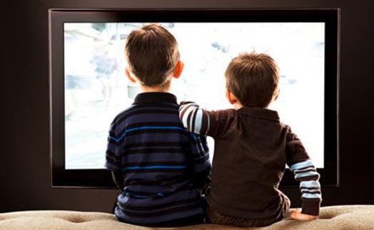 просмотр детьми ТВ
