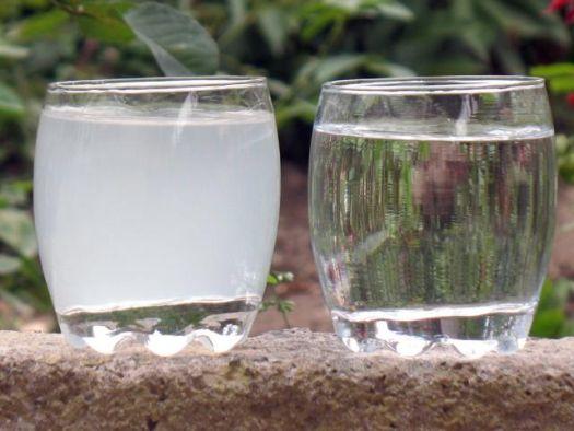 Вода чистая и грязная