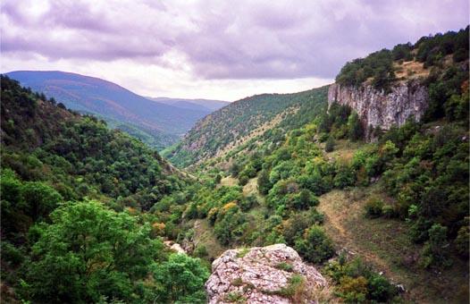 каньон Узунджи в Крыму