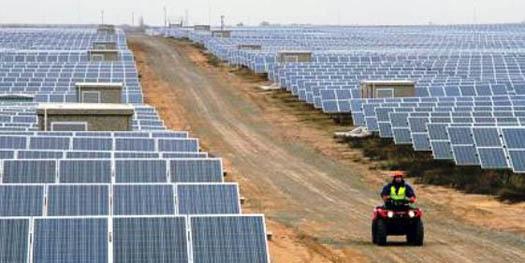 солнечная энергия в промышленных масштабах
