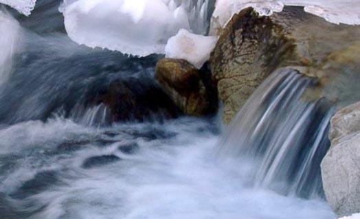 Вода в горной местности