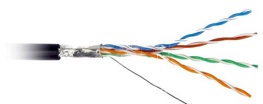 кабель Витой пары в разрезе