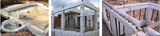 Изодом в строительстве