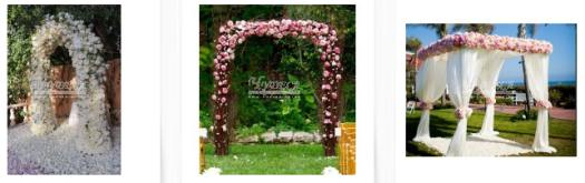 Арки свадебные