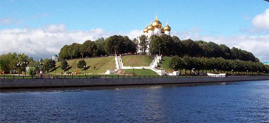 Ярославль - вид с реки Волга