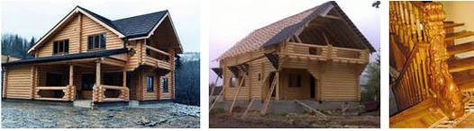 деревянные дома Карпат