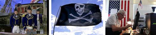 США и пиратсво