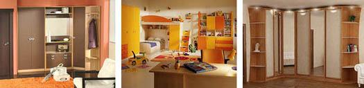 мебель для комнат квартиры