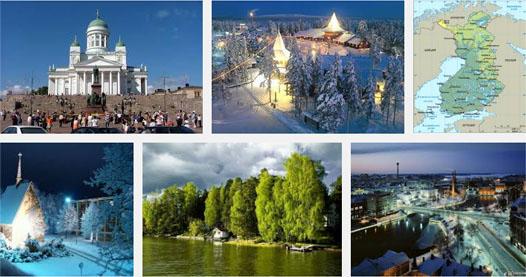 Финляндия - прекрасный край