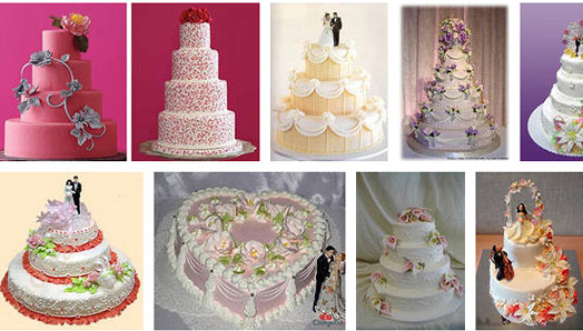 торты на свадьбах