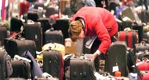 поиск багажа в аэропорту