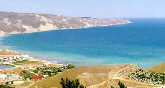 берег моря в Феодосии