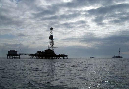 нефтедобыча в море