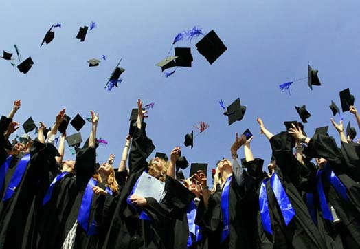 празднование высшего образования