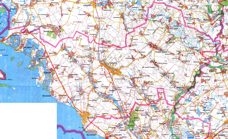 Карта Балаклейского Района Харьковской Области